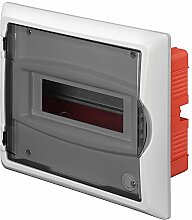Sicherungskasten Verteilerkasten 8 Module Unterputz IP40