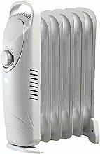Sichler Haushaltsgeräte Ölradiator: Mobile 600-Watt-Elektroheizung / Öl-Radiator-Heizkörper (Kleiner Radiator)