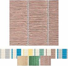 Sichtschutz - Abdeckung für Balkon, Carport, Zaun Auswahl: 90 x 300 cm braun