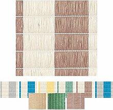 Sichtschutz - Abdeckung für Balkon, Carport, Zaun Auswahl: 90 x 300 cm braun - hellbeige