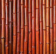 Sichtschutz Aus Bambusmatte - 1,8m x 1,9m - Rot,