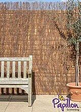 Sichtschutz aus Reisig - 1,5m Hoch x 4m Rolle - Papillon™