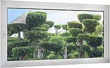 Sichtschutz Japanischer Garten B x H: 100cm x 50cm von Klebefieber®