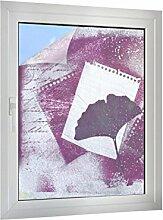 Sichtschutz Malerei mit Blatt B x H: 45cm x 60cm von Klebefieber®