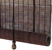 Sichtschutz Vorhänge Bambus Rollos Mit Haken,