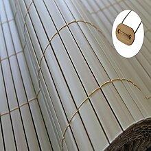 Sichtschutz Windschutz PVC (0,9m x 5m, natural-bamboo)