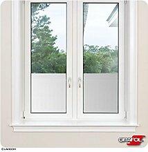 Sichtschutzfolie Fensterfolie Sonnenschutzfolie - Glasdekorfolie von ORACAL® + Maßanfertigung