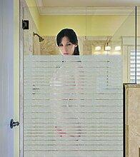 Sichtschutzfolie Hot Dusche Bad Fenster blickdichte Milchglasfolie Glasdekor 60 cm