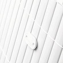 Sichtschutzmatten PVC Sichtschutz kunststoff weiss