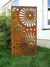 Sichtschutzwand Raumtrenner Zaun Sichtschutz Garten
