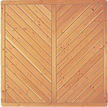 Sichtschutzzaun Holz Douglasie Vollelement 180 x