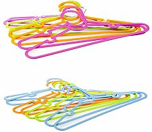 SIDCO 8er Set Kinderkleiderbügel Kinderbügel