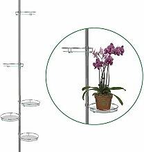 SIDCO ® Blumenständer Pflanzentreppe Teleskop
