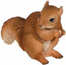 SIDCO Deko Eichhörnchen Garten Skulptur Tierfigur