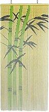 SIDCO Dekovorhang Bambus Türvorhang Bamboo