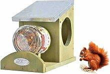 SIDCO Eichhörnchen Futterhaus Erdnussbutterhaus