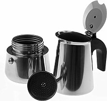 SIDCO ® Espressokocher Edelstahl 2 Tassen