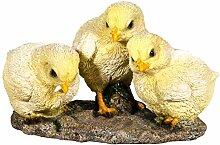 SIDCO Küken 3er Ostern Huhn Osterdeko Kükenfigur