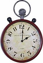 SIDCO Metalluhr Old Town Clocks Wanduhr Nostalgie