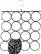 SIDCO ® Schalaufhänger Schalhalter Tuchhalter Kleiderbügel Tuchbügel