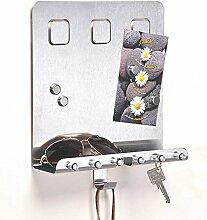 SIDCO ® Schlüsselboard Memoboard mit Ablage