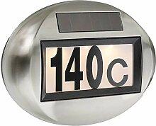 SIDCO Solar Hausnummer Beleuchtung