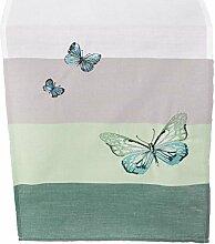 SIDCO Tischläufer Butterfly Tischtuch Tischband Deko Schmetterling Tischdecke 40x160 cm