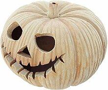 SIDCO Windlicht Kürbis Halloween Herbst Deko