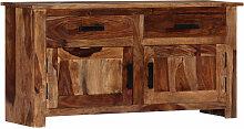 Sideboard 100 x 30 x 50 cm Massivholz Sheesham
