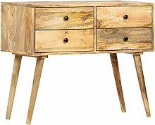 Sideboard 85 x 40 x 71 cm Massivholz Mango - Vidaxl
