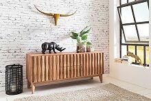 Sideboard aus Massivholz Akazie - Kommode 160 cm
