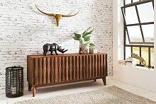 Sideboard aus Massivholz Sheesham - Kommode 160 cm