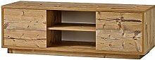 Sideboard Fichte TV-Sideboard TV-Schrank HiFi-Schrank Echtholz Optik