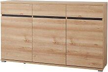 Sideboard LISSOBA-01 144cm Edelbuche Nachbildung,
