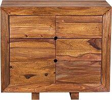 Sideboard Massivholz Sheesham Kommode 90 cm 6