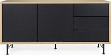 Sideboard - Minimal - Schwarz