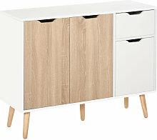 Sideboard Nachttisch Kommode mit Schubladen