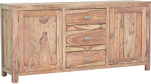 SIDEBOARD Sheesham massiv Natur Sheeshamfarben