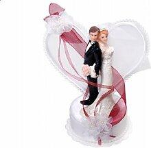 SiDeSo® Tortenaufsatz Hochzeit Tortendeko