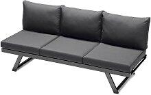Sieger Auckland Lounge/Liege Eisengrau/Grau