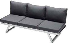 Sieger Auckland Lounge/Liege Graphit/Grau