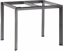 Sieger Tischgestell 90x90 cm Aluminium