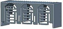 Siemens–Deckel cubrebornes NH00Kabel für