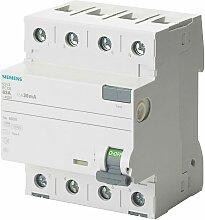 Siemens - FI-Schutzschalter A 4p 400V 63A 0,03A