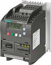 Siemens Sinamics V20–Drehzahlsteller 3AC 380–480V 47–63Hz 2,2kW mit Filter
