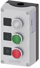 Siemens SIRIUS ATC Box Metall/A Oberseite grau 3Punkt Fernbedienung Lampe Zeichen.