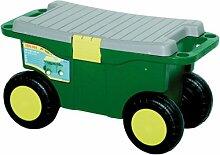 Siena Garden Hobby- und Gartenwagen, Sitzbank, grün/gelb, 560887