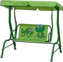 Siena Garden Kinder-Hollywoodschaukel Froggy Grün