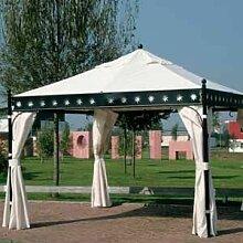 Siena Garden Seitenteile zu Pavillon Korfu natur