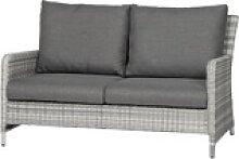 SIENA GARDEN Soria 2-Sitzer Loungesofa, ice grey,